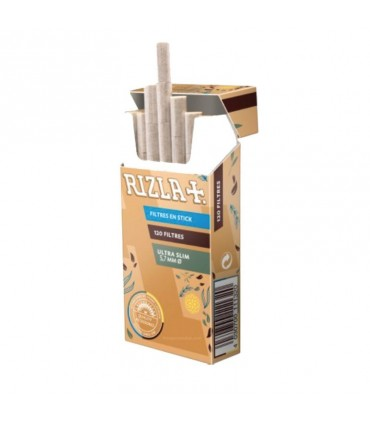 Filtri Rizla Natura  Ultra Slim 5.7 mm conf. 20 astucci da 120 filtri