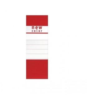 Cartella  New Color Portaprogetto con bottone dorso 12 colore rosso