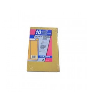 Buste carta manico in cordino mis. 26x35  colore Giallo Perlato  Conf. 25 pz.