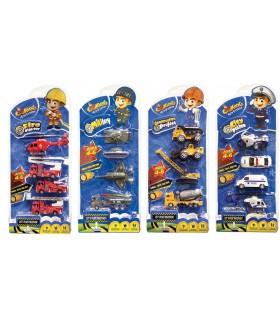 Set Cartella 4 Veicoli disponibile in 4 modelli