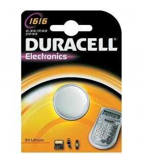 Pila Duracell a bottone1616  conf. da 10 blister