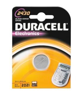 Pila Duracell a bottone 2430 conf. da 10 blister