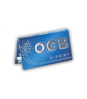 Cartina OCB X-pert Blu Corta Doppia conf. 25 libretti da 100 cartine