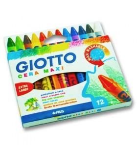 Astuccio Giotto Cera Maxi da 12
