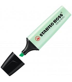 Evidenziatore Stabilo Boss colore Verde Pastello conf. 10 pz.
