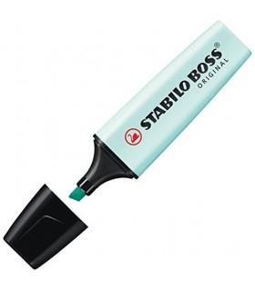 Evidenziatore Stabilo Boss colore Azzurro Pastello conf. 10 pz.