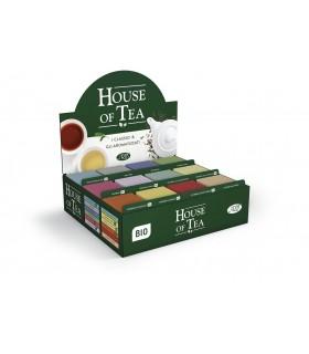 PREPACK HOUSE OF TEA TE' CON 240 BUSTINE ASSORTITE + TAZZE OMAGGIO