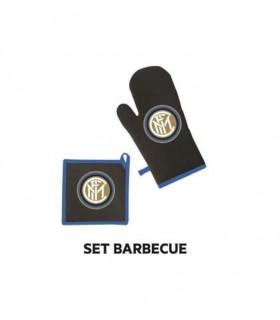 Set Barbecue Inter con Guanto e Presina