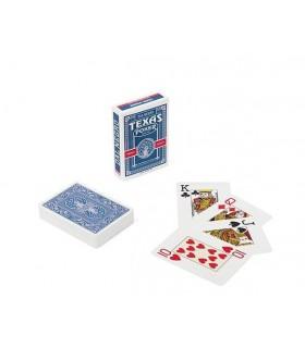 Carte Dal Negro Texas  Poker Monkey Viola/Blu