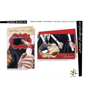 Biglietto Cromo Laurea Fotografica conf. 12 pz. assortiti