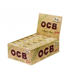 Cartine Ocb Canapa Biodegradabili a Rullo conf. da 24 pz.