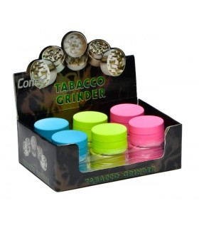 Grinder Atomic in Metallo 3 Parti Expo 12 pz. assortito con 3 colori