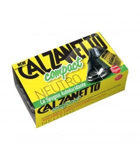 Calzanetto Spugna Compact Autolucidante Neutro