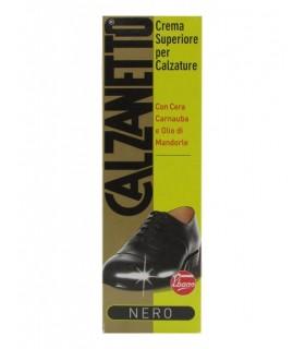 Calzanetto Crema Calzature Colore Nero Tubo 50 ml