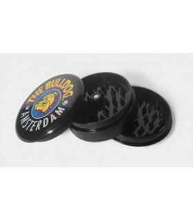 Grinder THE BULLDOG in Plastica 3 Parti colore nero