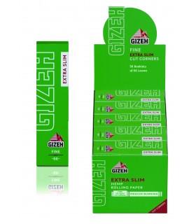 Cartine Gizeh Fine Extra Slim Verde conf. 50 pz.
