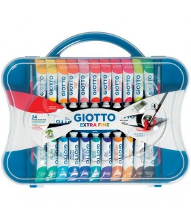 Scatola tempere Giotto 24pz. tubetto da 12ml