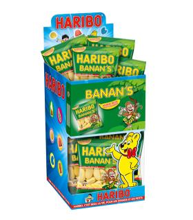 HARIBO BANANA 30 GR. ESPOSITORE DA 30 BUSTINE