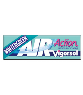 VIGORSOL AIR ACTION WINTERGREEN  SENZA ZUCCHERO STICK CONF.  40 PZ.