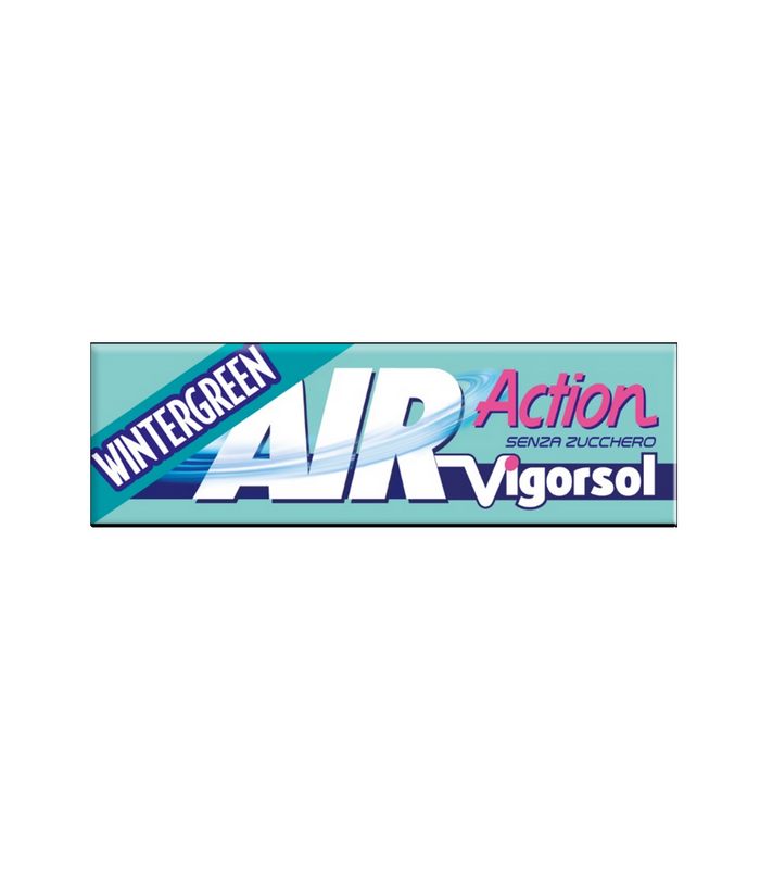 VIGORSOL AIR ACTION WINTERGREEN  SENZA ZUCCHERO STICK CONF.  40 PZ.