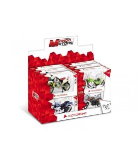 Modellini MotoBike Mondo Motors Scala 1:18 Expo da 12 pz. assortiti