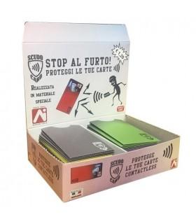 Porta Card Morbido 2 Tasche conf. da 70 pz. colori assortiti