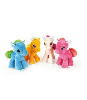Peluche Pony H. 20 cm disponibile in 4 colori