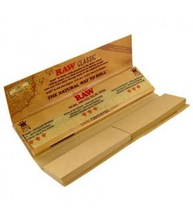 Cartina Raw Connoisserur KS Slim + Filtri in carta conf. 24 libretti