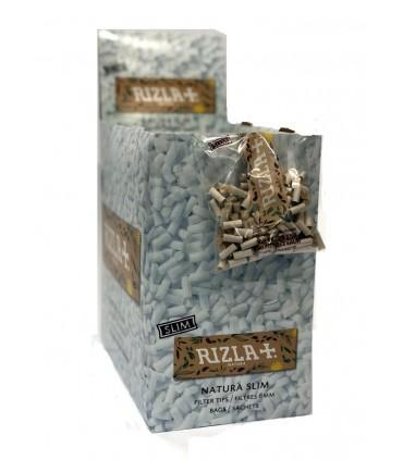 Filtri Rizla Slim 6mm Natura in Busta  conf.  50 buste da 150 filtri