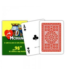 Carte da Poker Modiano (contiene 52 carte e 2 matte)