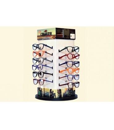Occhiali da Lettura El Charro Mix 4 Expo girevole 24 pz. assortito con 4 modelli