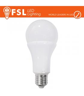 Lampadina LED FSL Bulbo grande E27 Potenza 15 Watt Resa 75 Watt