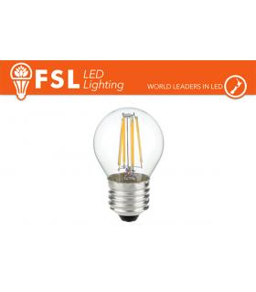Lampadina Filamento LED FSL Bulbo grande E27 Potenza 4 Watt Resa 40 Watt
