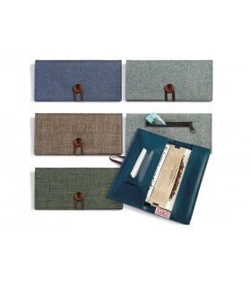 Portatabacco Ciao Big in tessuto ed Ecopelle Conf. 8 pz. assortiti con 4 colori