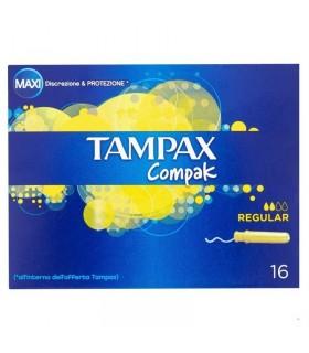 Tampax Compak Assorbenti interni Regular 16 pz.