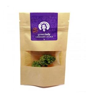 Infiorescenza di Canapa Lady Godiva 1 g senza semi
