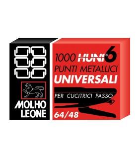 Punti per Cucitrice Leone passo 6 conf. 10 scatole da 1000 punti