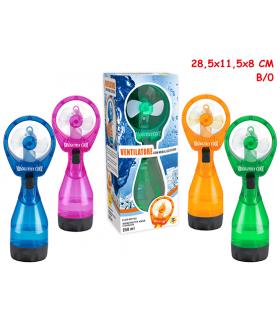 Ventilatore con Nebulizzatore 250 ml Colori assortiti