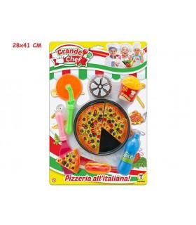 Cartella Grande Chef Pizza con Accessori