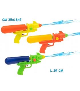 Pistola ad Acqua Supergetto L. 29 cm Disponibile in 3 colori