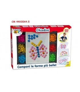 Chiodini Colorati a Mosaico 300 pz