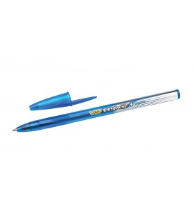 Penna Bic Cristal gel Medium colore Blu