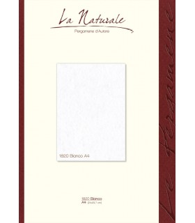 Carta Pergamena Naturale colore Bianco A3 160 gr. conf. 12 fogli