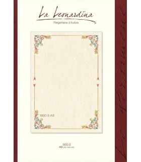 Carta Pergamena Naturale colore Avorio A3 160 gr.