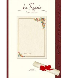 Carta Pergamena Fiorentino A4 160 gr. colore avorio conf.12 pz.