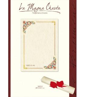 Carta Pergamena Fiorentino A4 160 gr. colore avorio conf.12 fogli