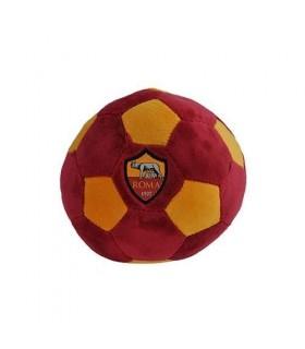 Palla Giallorossa in peluche con logo  AS Roma