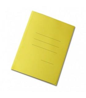 Cartelline zaffiro a tre lembi  Blasetti conf. da 50 pz. colore giallo