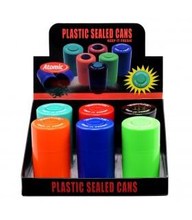 Contenitore per Tabacco Ermetico in Plastica Expo da 6 pz.