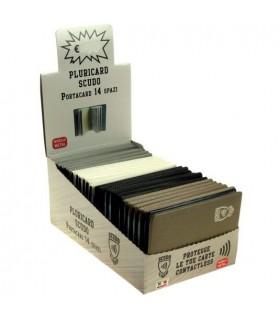 Portacard Contactless a Libro 14 Scomparti Expo 24 pz. colori assortiti